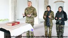 Aserbaidschanischer Präsident Aliyev besucht Shusha
