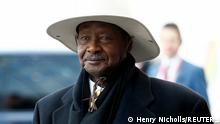 Großbritannien London 2020 |Yoweri Museveni, Präsident Uganda