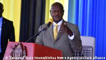Tansania Chato 2020 |Yoweri Museveni, Präsident Uganda