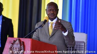 Tansania Chato 2020  Yoweri Museveni, Präsident Uganda