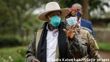 Uganda Wahl 2021 |Yoweri Museveni, Präsident