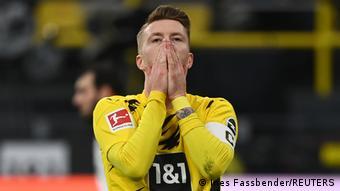 Marco Reus peut s'en vouloir : le capitaine du BVB a manqué de nombreuses occasions de marquer, dont un pénalty