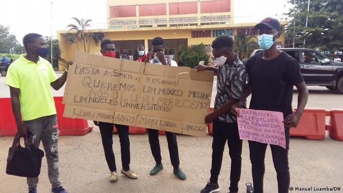 Protesto no leste de Angola