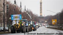 Deutschland Demonstration für Agrarwende in Berlin