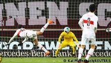 Fußball Bundesliga | VfB Stuttgart vs. Borussia Mönchengladbach | Tor (1:1)