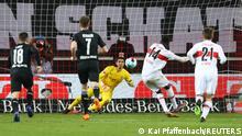 Fußball Bundesliga | VfB Stuttgart vs. Borussia Mönchengladbach | Tor (2:2)
