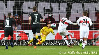En marquant contre Gladbach, Silas Wamangituka a inscrit son neuvième but de la saison