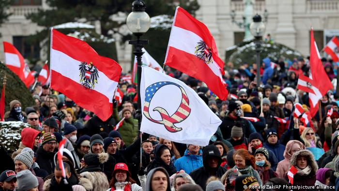Österreich Proteste gegen Corona-Maßnahmen