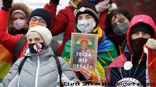 Polen Plock | Protest Prozess LGBT Aktivisten