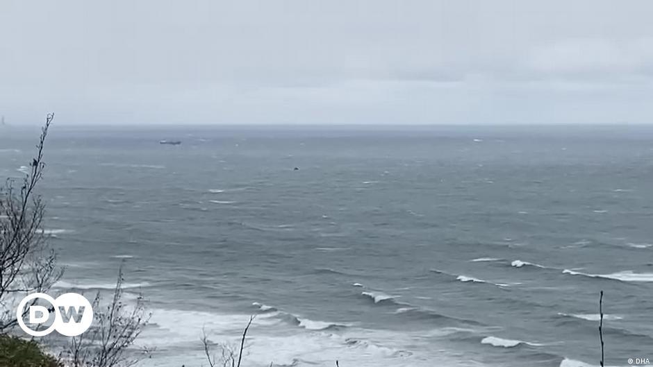 İnkumu açıklarında Rus bandıralı yük gemisi battı