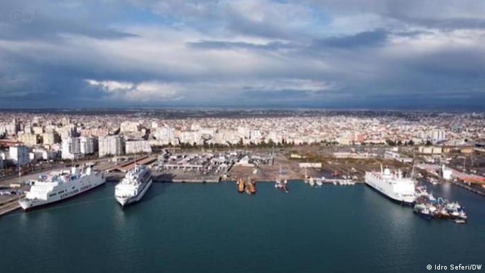 DW-Beitrag Albanien |Drac, Hafen