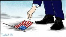 DW-Karikatur von Vladdo - USA, Llegó la hora