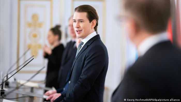 Канцлер Австрії Себастіан Курц