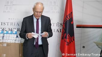 AL_ Peter Zingraf I Botschafter in Tirana