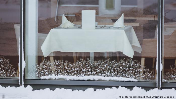 Zamknięte sklepy w Austrii