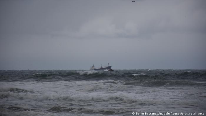 Операция по спасению жертв кораблекрушения у берегов Турции, 17 января 2021 года