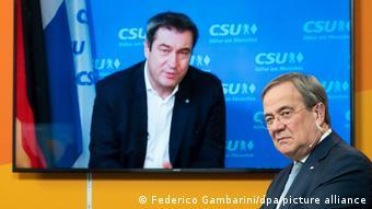 Έμπειρα στελέχη της CDU θεωρούν ότι ο Λάσετ δεν κινδυνεύει από τον Βαυαρό πρωθυπουργό Ζέντερ