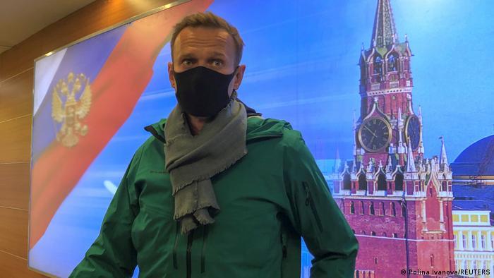Navalni'nin tutuklanmasına tepkiler