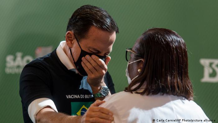 Brazil's COVID-19 vaccination program has begun