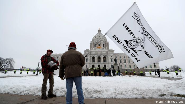 Trump-Anhänger in Minneapolis