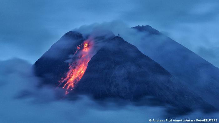 BdTD Indonesien Vulkan Mount Merapi