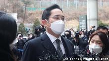 Südkorea Prozess Samsung Lee Jae-yong