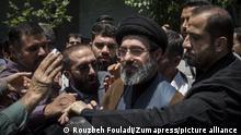Iran Protest gegen Israel in Teheran Ali Khamenei