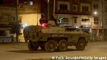 انتشرت وحدات من الجيش التونسي في أربع مدن من بينها سليانة