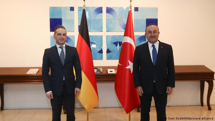 Türkei Ankara Heiko Maas und Mevlut Cavusoglu Treffen in Ankara