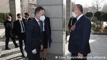 Almanya Dışişleri Bakanı Heiko Maas Ankara'da