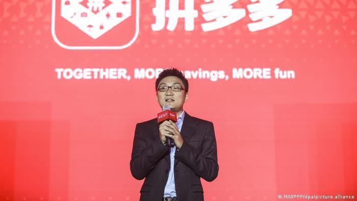 China Pinduoduo CEO Colin Huang
