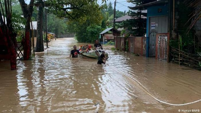 Banjir di Kota Manado, Sulawesi Utara
