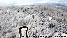 Polen Winterlandschaft