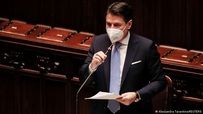 Prime Minister Giuseppe Conte