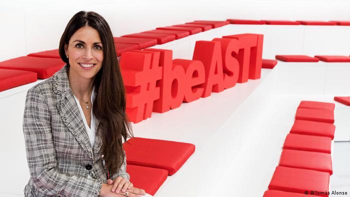 Veronica Pascual, CEO der ASTI Technologies Group in Burgos