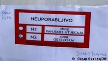 Kroatien Erdbeben Radio Sisak