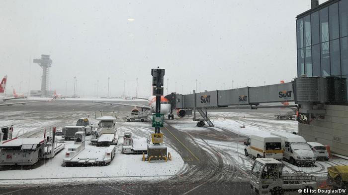 Deutschland Flughafen BER