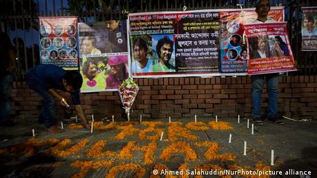 Indien Dhaka Trauer Anteilnahme Queer Aktivist