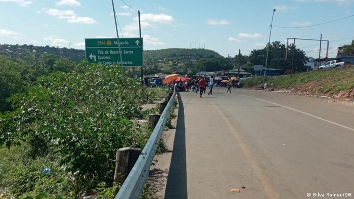 Fronteira de Ressano Garcia, Moçambique
