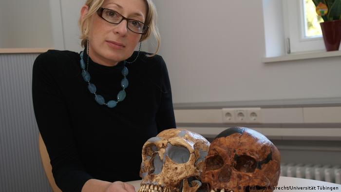 Deutschland Paläoanthropologin Katerina Harvati
