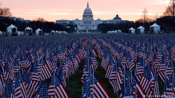 USA | Biden Einweihung | Denkmal für COVID-19-Opfer in Washington