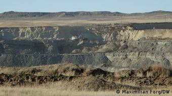 Угольный карьер Eagle Butte Mine в штате Вайоминг