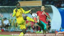 Fußball Afrikanische Nationenmeisterschaft 2021 Marokko - Togo