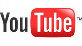 Logo YouTube weiß