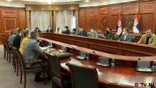Serbien Belgrad Diskussion in der Regierung