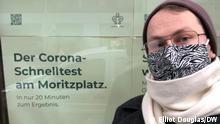 Deutschland Berlin Coronavirus Schnelltest-Zentrum am Moritzplatz