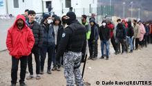 Bosnien und Herzegowina Flüchtlingscamp Lipa