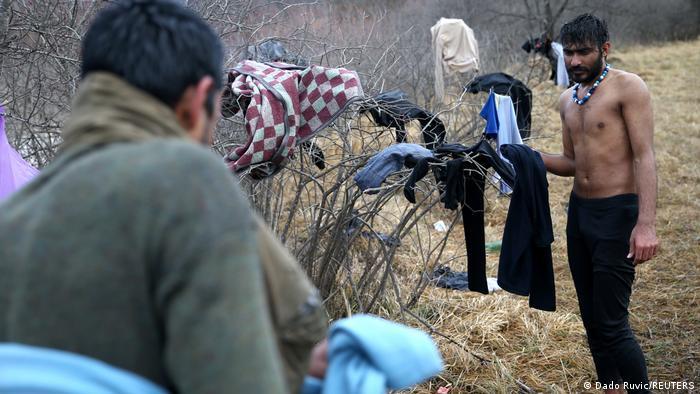 Izbjeglice u BiH u blizini granice sa Hrvatskom