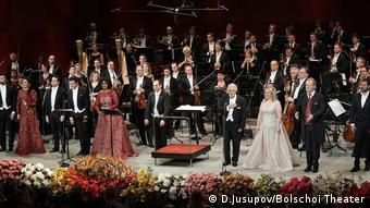 Σε γκαλά στην Όπερα της Μόσχας στις 26.10.2020