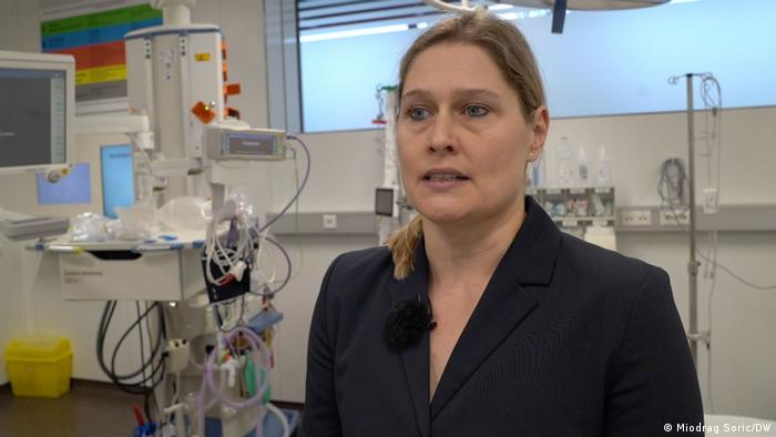 Sylvia Pemmerl vom Krankenhaus St Josef